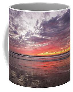 Low Tide Del-mar Beach Img 3 Coffee Mug