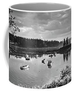 Low Tide, Port Clyde, Maine #8507-bw Coffee Mug
