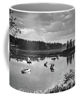 Low Tide, Port Clyde, Maine #8507-bw Coffee Mug