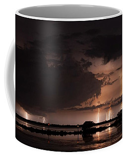 Low Tide With High Energy Coffee Mug by Quinn Sedam