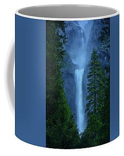 Lower And Middle Yosemite Falls Coffee Mug