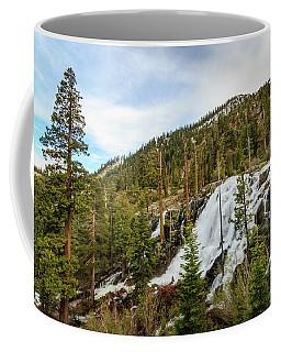 Lower Eagle Falls Graceful Descent Coffee Mug