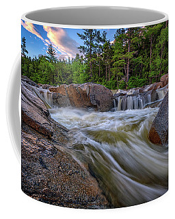 Coffee Mug featuring the photograph Lower Falls Of The Swift River by Rick Berk
