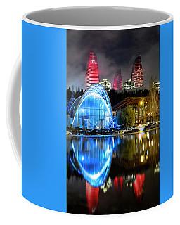 Coffee Mug featuring the photograph Lower Funicular Station by Fabrizio Troiani