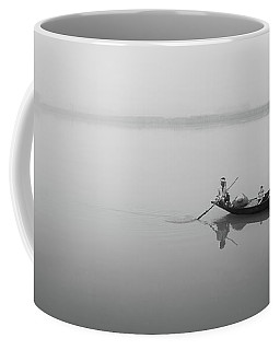 Coffee Mug featuring the photograph Lower Ganges - Misty Morinings by Chris Cousins