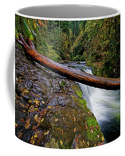 Lower Punch Bowl Falls Coffee Mug