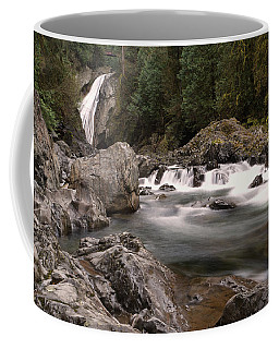 Coffee Mug featuring the photograph Lower Twin Falls by Jeff Swan