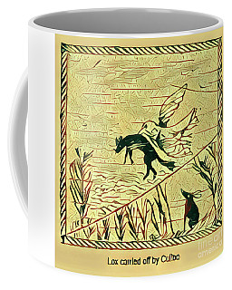 Coffee Mug featuring the digital art Lox And Culloo by Art MacKay