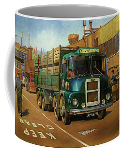 Lucas Scammell Routeman I Coffee Mug by Mike  Jeffries
