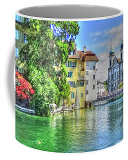 Coffee Mug featuring the photograph Lucerne by Adrian LaRoque