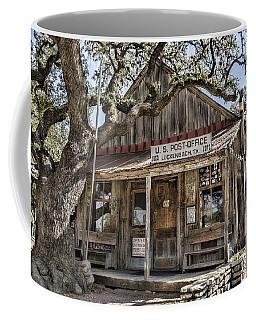 Luckenbach Tx Post Office Coffee Mug