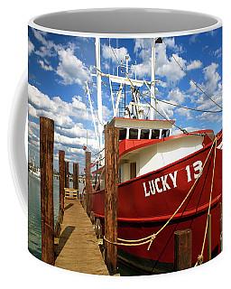 Lucky 13 At Long Beach Island Coffee Mug