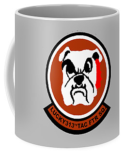 Lucky 313th Tac Ftr Sq Coffee Mug