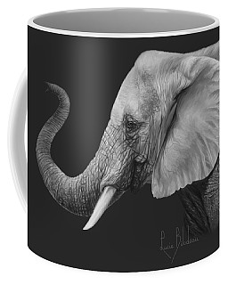 Lucky - Black And White Coffee Mug
