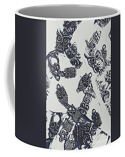 Lucky Charms Of Wise Old Owls Coffee Mug