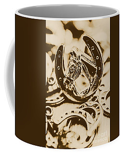 Lucky Cowboys Charm Coffee Mug