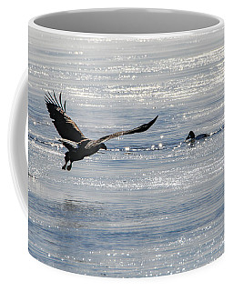 Coffee Mug featuring the photograph Lucky Duck by Ray Congrove