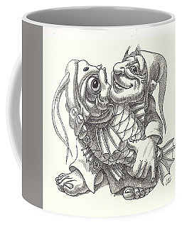 lucky Fisherman Coffee Mug