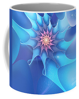 Coffee Mug featuring the digital art Lucky Star by Jutta Maria Pusl