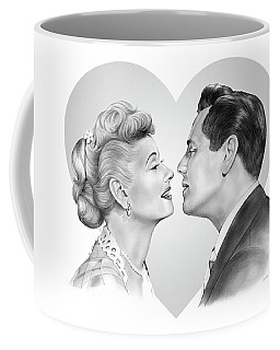 Lucy And Desi Coffee Mug