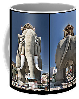 Lucy Coming And Going Coffee Mug