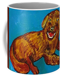Coffee Mug featuring the painting Lucy by Jonathon Hansen