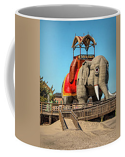 Coffee Mug featuring the photograph Lucy On The Beach by Kristia Adams
