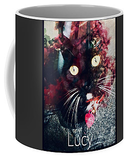 Lucy The Cat Coffee Mug