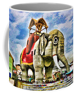 Lucy The Elephant 2 Coffee Mug