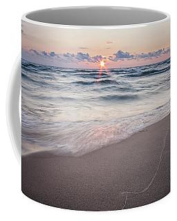 Ludington Beach Sunset Coffee Mug
