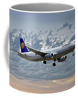 Lufthansa Airbus A321-131 Coffee Mug