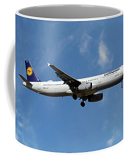 Lufthansa Airbus A321-231 Coffee Mug
