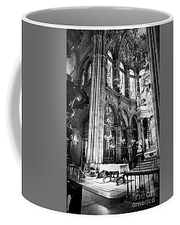 Lugo Cathedral Altar Bw Coffee Mug