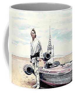 Luke Skywalker On Tatooine Star Wars A New Hope Coffee Mug