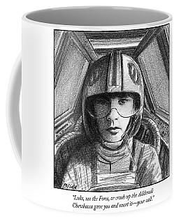 Luke Use The Force Coffee Mug