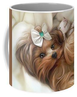 Lulu And Mr.lamb Coffee Mug