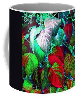 Luminous Lilac Leaves Coffee Mug