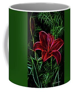 Luminous Lily Coffee Mug by Joann Copeland-Paul