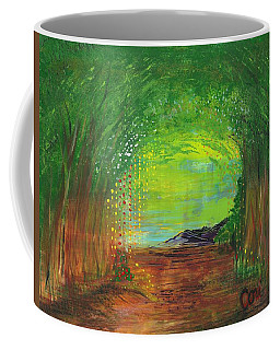 Luminous Path Coffee Mug