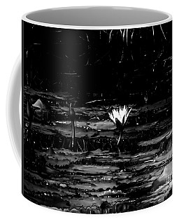 Luminous Water Lily  Coffee Mug