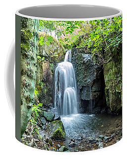Coffee Mug featuring the photograph Lumsdale Falls by Nick Bywater