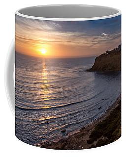 Lunada Bay Sunset Coffee Mug