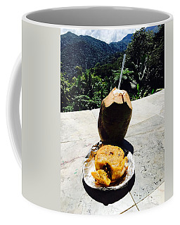 Coffee Mug featuring the photograph Lunch At El Yunque by The Art of Alice Terrill