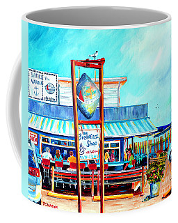 Lunch At The Clam Bar Coffee Mug