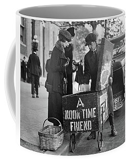 Lunch Cart In Washington D C Coffee Mug
