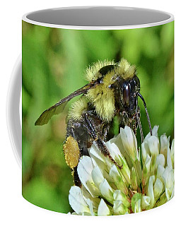 Lunch In The Garden Coffee Mug by Ludwig Keck