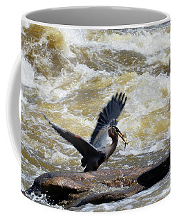 Lunch In The James River 7 Coffee Mug