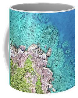 Coffee Mug featuring the photograph Luncheon Bay, Hook Island by Keiran Lusk