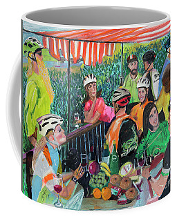 Pastel-luncheon Of The Cycling Party Coffee Mug