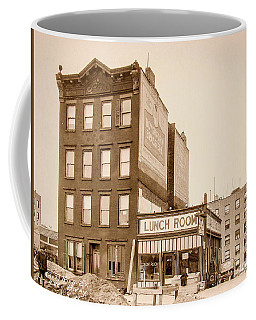 Coffee Mug featuring the photograph Lunchroom  by Cole Thompson
